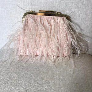 BCBG Maxazria bag with fringe pink color DM30